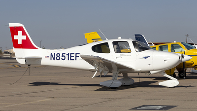 N851EF - Cirrus SR20 - European Flight Academy