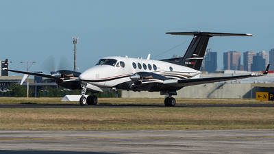 VH-MHV - Beechcraft 200 Super King Air - Pays Helicopters
