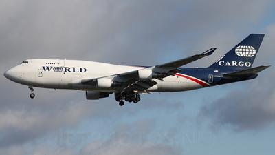 N740WA - Boeing 747-4H6(BDSF) - World Airways Cargo