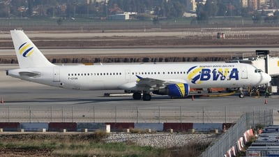 F-GYAN - Airbus A321-111 - Bosnian Wand Airlines