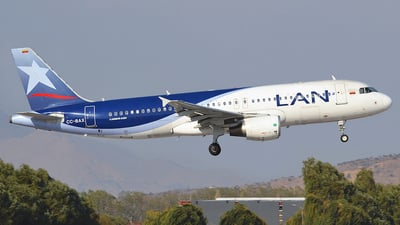 CC-BAX - Airbus A320-214 - LAN Airlines