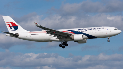 9M-MTV - Airbus A330-223 - Malaysia Airlines