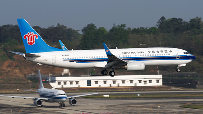 A picture of B1401 - Boeing 73781B - China Southern Airlines - © baobao723