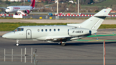 F-HREX - Raytheon Hawker 800XP - VallJet