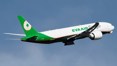 B-16786 - Boeing 777-F5E - Eva Air Cargo