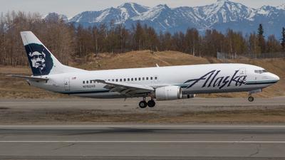 N762AS - Boeing 737-4Q8(C) - Alaska Airlines