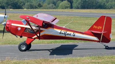 PH-4T9 - Denney Kitfox IV-1200 Speedster - Private