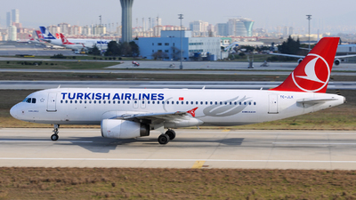 TC-JLK - Airbus A320-232 - Turkish Airlines