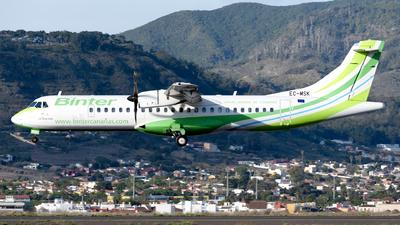 A picture of ECMSK - ATR 72600 - Binter Canarias - © Manuel EstevezR