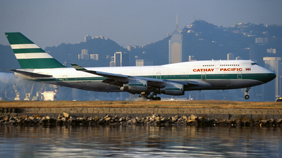 VR-HUD - Boeing 747-467 - Cathay Pacific Airways
