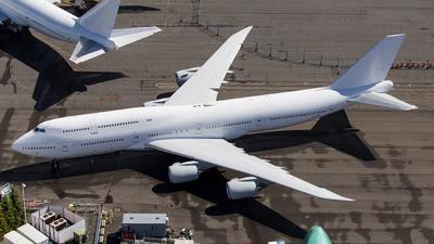 N895BA - Boeing 747-85M - Boeing Company