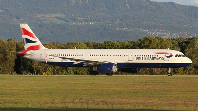 G-MEDF - Airbus A321-231 - British Airways