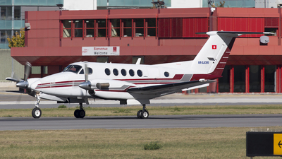 HB-GJI - Beechcraft 200 Super King Air - Air-Glaciers