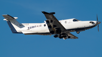 N817SA - Pilatus PC-12/47E - SurfAir