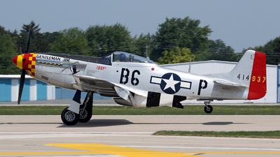 NL551J - North American P-51D Mustang - Private