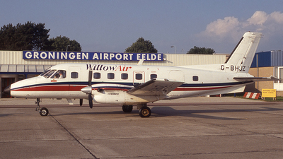 G-BHJZ - Embraer EMB-110P2 Bandeirante - Willow Air