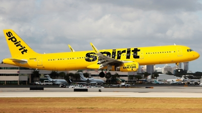 N665NK - Airbus A321-231 - Spirit Airlines