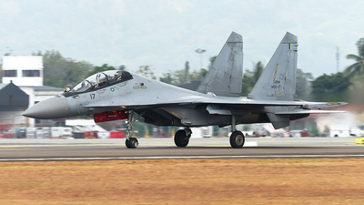 M52-17 - Sukhoi Su-30MKM - Malaysia - Air Force
