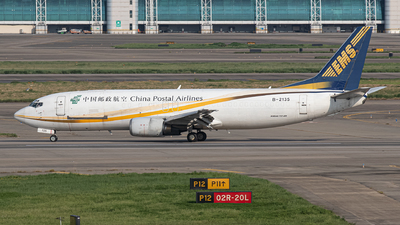 A picture of B2135 - Boeing 73745R(BDSF) - China Postal Airlines - © Leng Hao