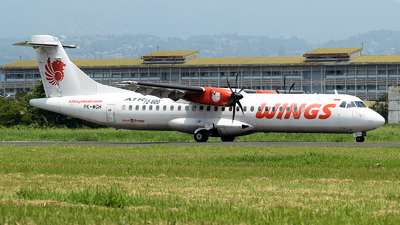 PK-WGH - ATR 72-212A(600) - Wings Air
