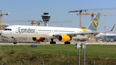 A picture of DABOC - Boeing 757330 - Condor - © P Kautzsch
