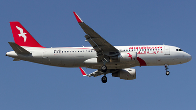 A6-AOI - Airbus A320-214 - Air Arabia