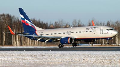VQ-BWD - Boeing 737-8LJ - Aeroflot