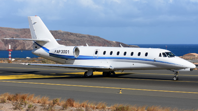 A picture of FAP3001 - Cessna 680 Citation Sovereign - [6800272] - © Alejandro Hernández León