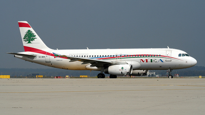 OD-MRR - Airbus A320-232 - Middle East Airlines (MEA)