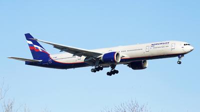 VQ-BQF - Boeing 777-3M0ER - Aeroflot