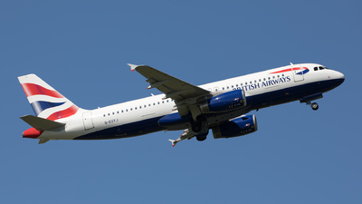 G-EUYI - Airbus A320-232 - British Airways