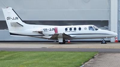 A picture of OYJJN - Cessna 501 Citation I SP - SunAir - © Erik Gjørup Kristensen - SAI Collection