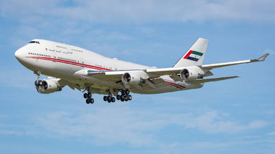 A6-HRM - Boeing 747-422 - United Arab Emirates - Dubai Air Wing