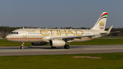 A picture of A6EIX - Airbus A320232 - Etihad Airways - © Anton Mikhailov.