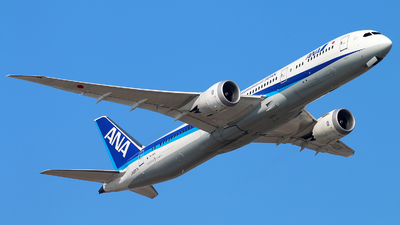 A picture of JA837A - Boeing 7879 Dreamliner - All Nippon Airways - © cmqmc