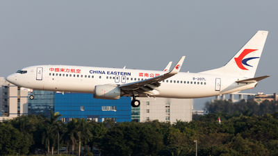 A picture of B207L - Boeing 73789P - China Eastern Airlines - © Jack  Li