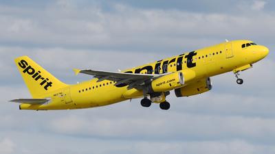 N697NK - Airbus A320-232 - Spirit Airlines
