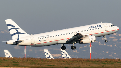 A picture of SXDGC - Airbus A320232 - Aegean Airlines - © George Chaidaris