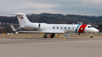 02 - Gulfstream C-37B - United States - US Coast Guard (USCG)