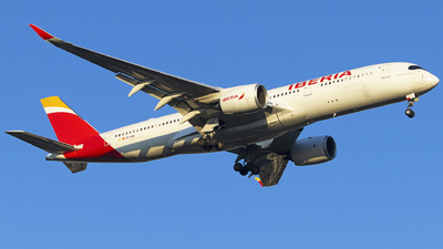 A picture of ECNDR - Airbus A350941 - Iberia - © KnightHammer Aviation