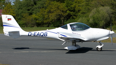 D-EAQB - Aquila A210 - Private