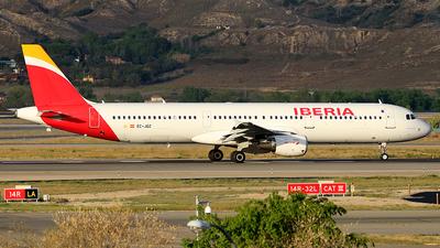 EC-JQZ - Airbus A321-211 - Iberia