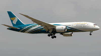 A picture of A4OSA - Boeing 7878 Dreamliner - Oman Air - © Aneesh Bapaye