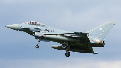 31-47 - Eurofighter Typhoon EF2000 - Germany - Air Force
