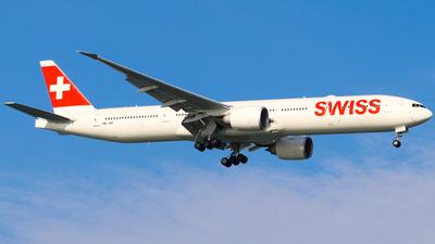 HB-JNF - Boeing 777-3DEER - Swissair