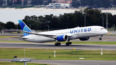 N24979 - Boeing 787-9 Dreamliner - United Airlines