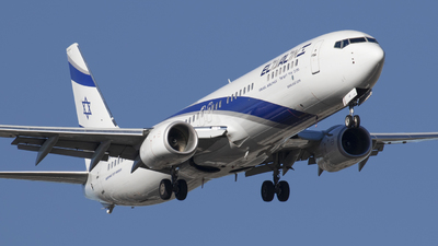 4X-EHF - Boeing 737-958ER - El Al Israel Airlines