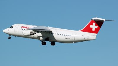 HB-IYY - British Aerospace Avro RJ100 - Swiss