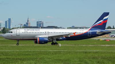VP-BKC - Airbus A320-214 - Aeroflot