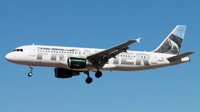 N216FR - Airbus A320-214 - Frontier Airlines